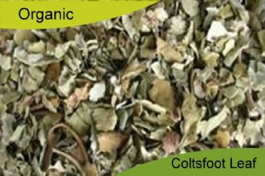 Organic Coltsfoot Leaf 250gm